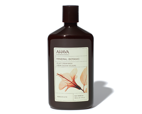 Mineral Botanic Velvet Cream Body Wash - Hibiscus + Fig