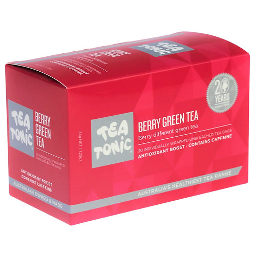 Berry Green Tea Teabags