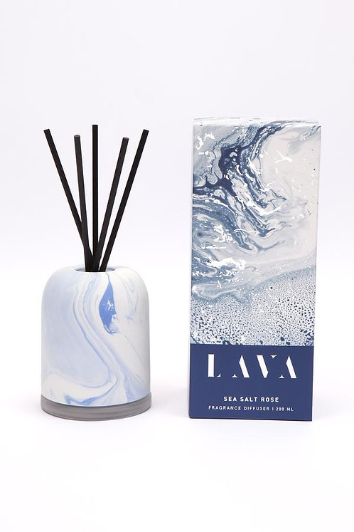 Serenity Lava Diffuser - Sea Salt Rose