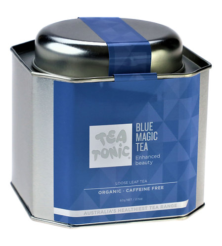 Blue Magic Tea Loose Leaf Tin