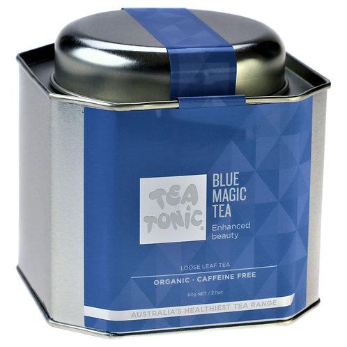 Blue Magic Tea Loose Leaf Tin