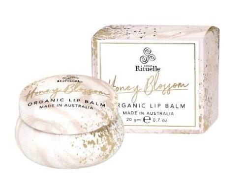 Organic Lip Balm - Honey Blossom