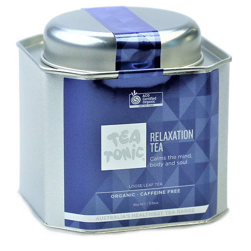 Relaxation Tea Loose Leaf Tin