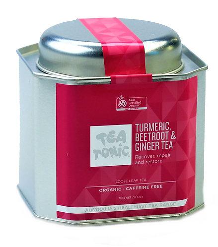 Tumeric, Beetroot & Ginger Tea Loose Leaf Tin