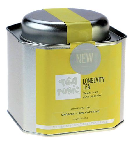 Longevity Tea Loose Leaf Tin