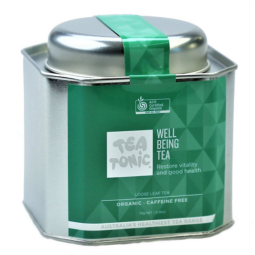 Wellbeing Tea Loose Leaf Tin