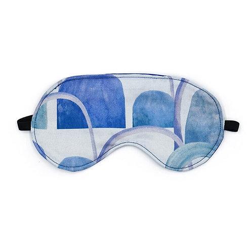 Eye Mask - Arches Blue