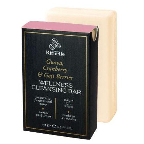 Wellness Cleansing Bar - Guava, Cranberry & Goji Berries