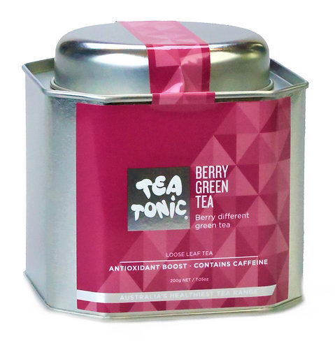 Berry Green Loose Leaf Tin
