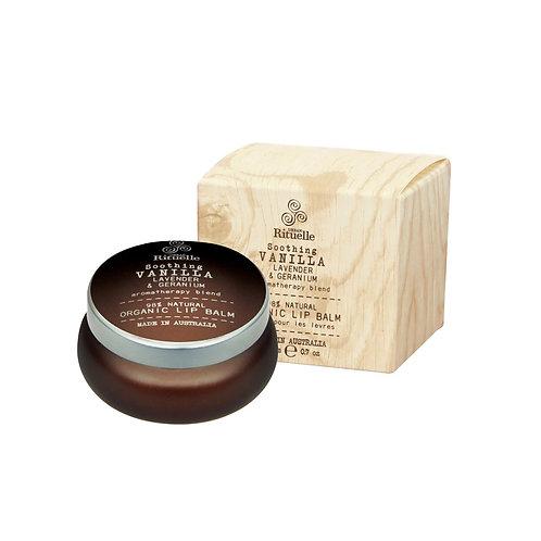 Flourish Organics Lip Balm - Vanilla, Lavender & Geranium