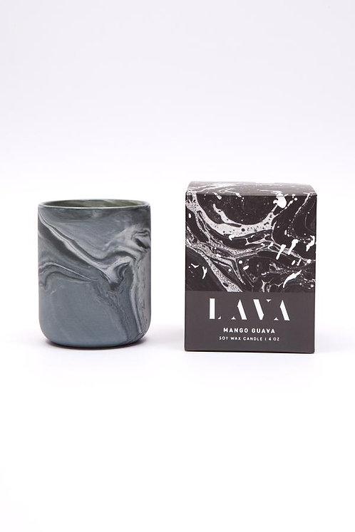 Serenity Lava Small Candle - Mango Guava