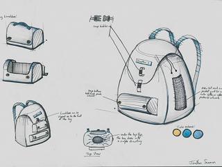 Child's Backpack Design