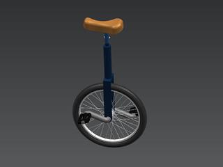 Unicycle CAD