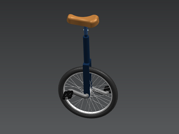 Unicycle CAD