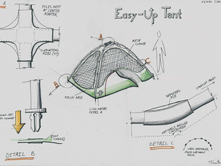"""""""Easy-Up"""" Tent Design"""