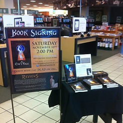 A Cat's Tale book signing at Barnes & Noble