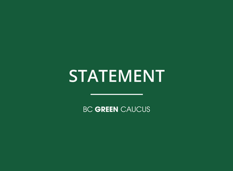 B.C. Green Caucus welcomes first steps, calls for full implementation of old growth panel report
