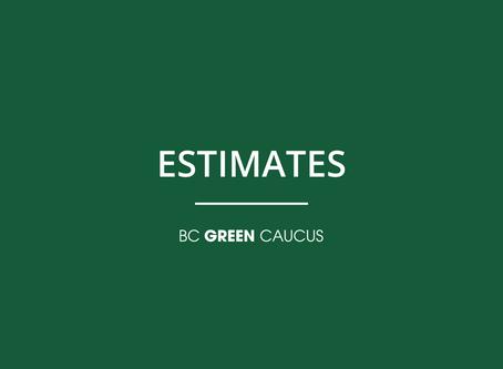 Estimates Debate: Ministry of Health