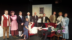 Cast of She Stoops to Conquer - 2019