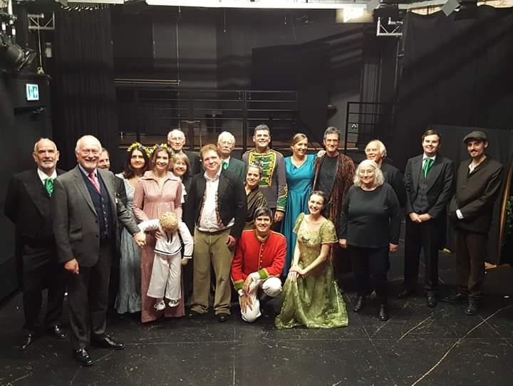 Cast of The Winter's Tale 2018