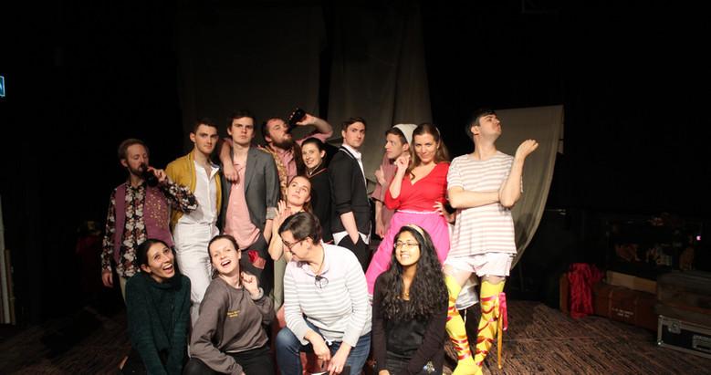 The cast & crew of Twelfth Night