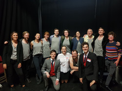 Cast of Life After Shakespeare - 2019