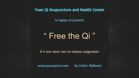Free the Qi - 4 min workout to release stagnation