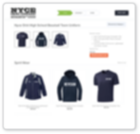 Nyce Shirt offers online stores for Teams, School Spirit Wear & Corporate Apparel Stores