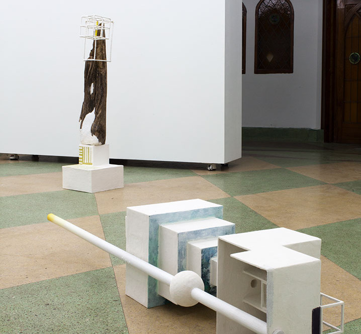 Installation View, This is the place