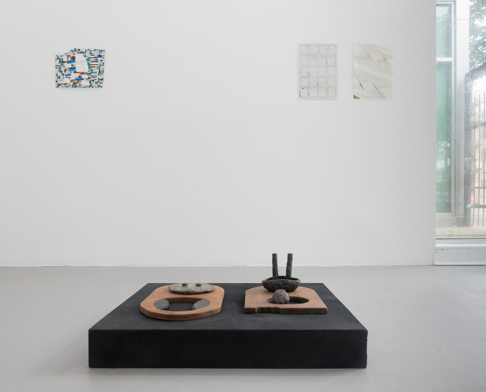 Installation View, Between Land and Sky