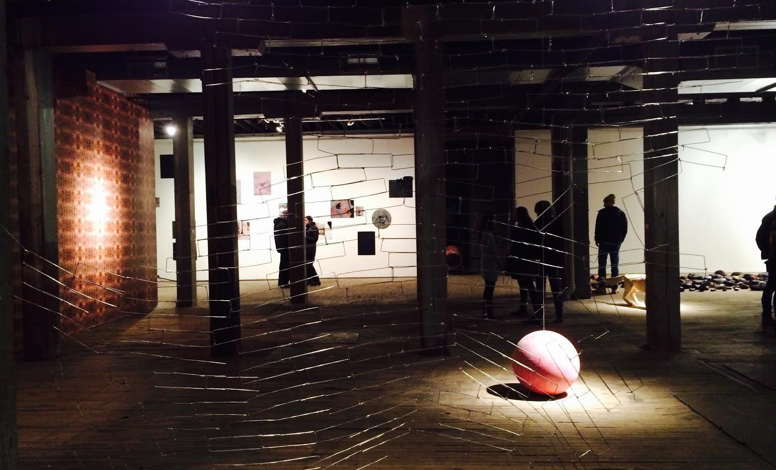 Installation View, Diaspora