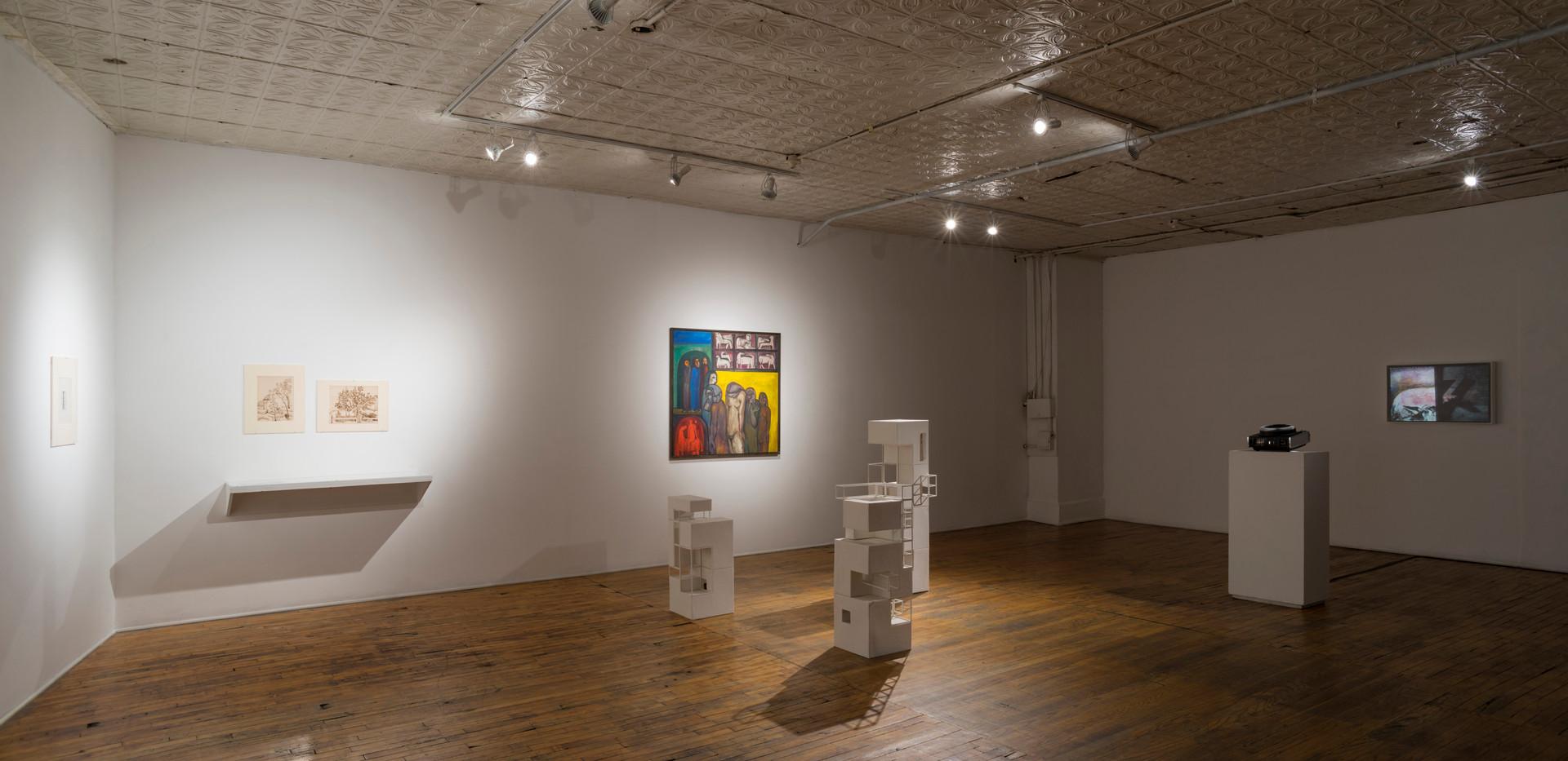 Installation View, Sedentary Fragmentation