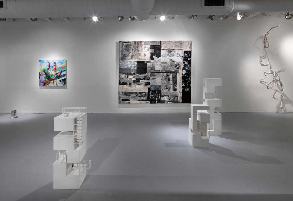 New Business, Installation View