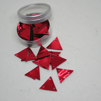 Red Triangle Sequins