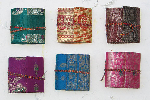 Mini Sari Wraparound Note Book (pack of 3)