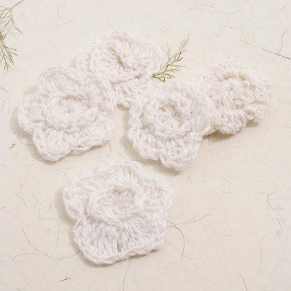 Small Crochet Flowers