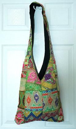 Green Patchwork Bag