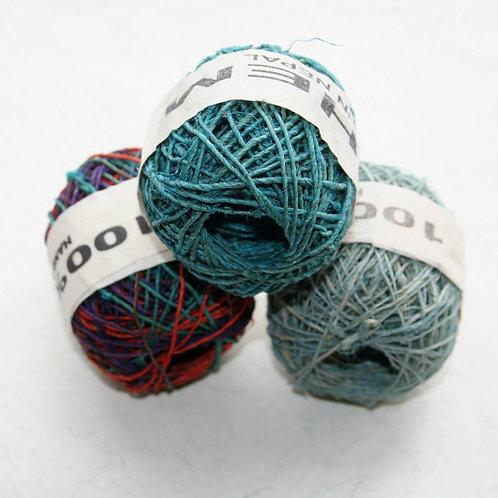Mini Ball of Hemp (set of three)
