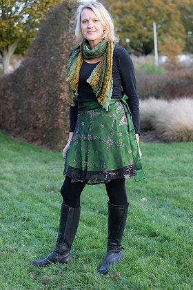 Green Sitara Skirt