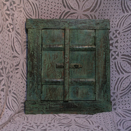 Hand Carved Rajasthani Doors with Mirror