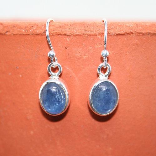 Oval Kyanite Earrings