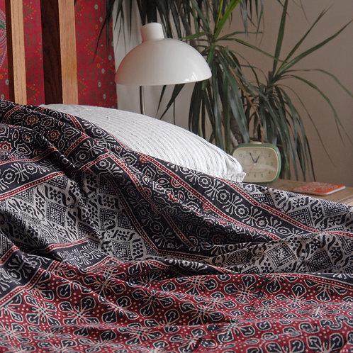 Ajrak Double Bedspread
