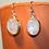 Thumbnail: Oval Rainbow Moonstone Earrings