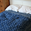 Thumbnail: Hand Stitched Double Indigo Bedspread
