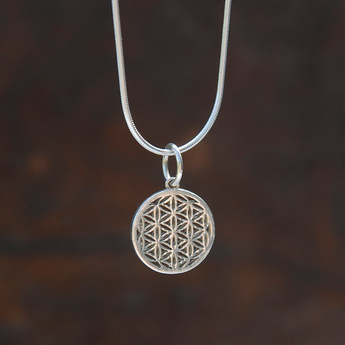 Small Flower of Life Pendant