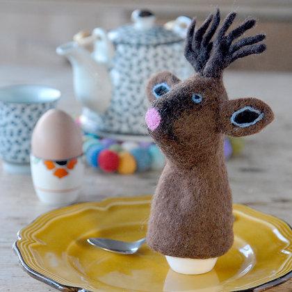Reindeer Felt Egg Warmer
