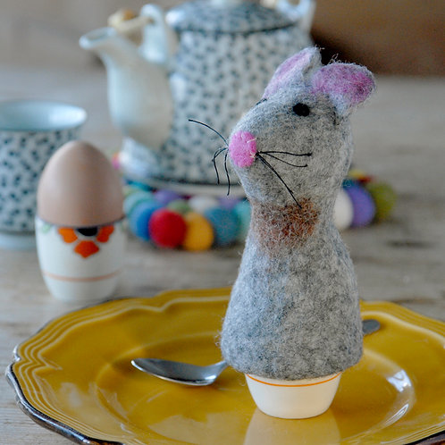 Mouse Felt Egg Warmer