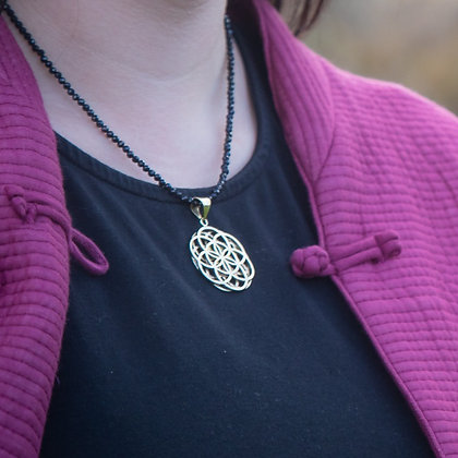 Double Flower of Life Pendant