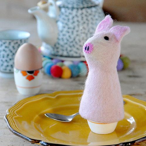 Pig Felt Egg Warmer