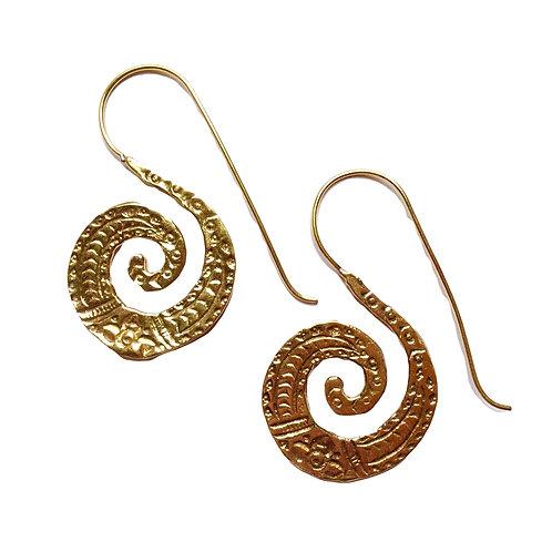 Patterned Hook Earrings